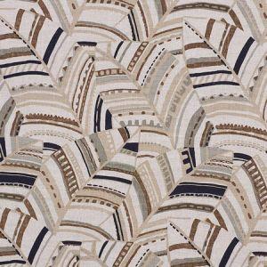 178651 DECO LEAVES Neutral Schumacher Fabric