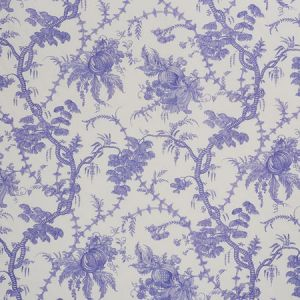 178732 SAN CRISTOBAL TOILE Purple Schumacher Fabric