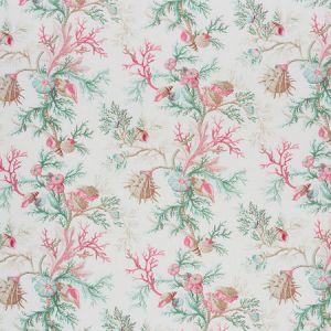 178761 DEL TESORO Pink Aqua Schumacher Fabric