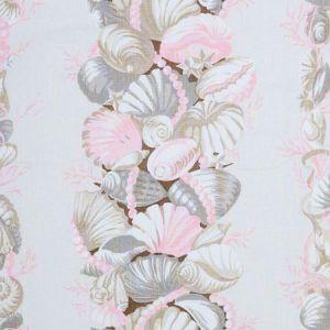 178781 BEDOLINA CHINTZ Pink Natural Schumacher Fabric