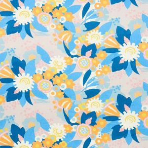 179070 ANITA Lilac Orange Schumacher Fabric
