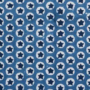 179222 TUK TUK Blue Schumacher Fabric