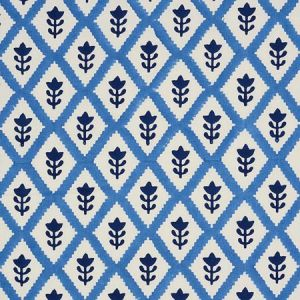 179230 BUTI Blue Schumacher Fabric