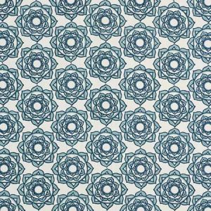 179290 ROSE Blue Schumacher Fabric
