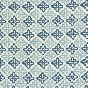 179301 PATTEE Blue Schumacher Fabric
