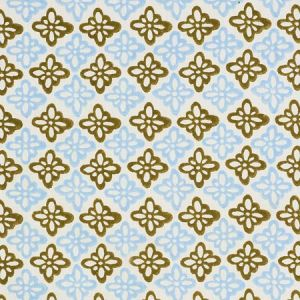 179302 PATTEE Khaki Schumacher Fabric