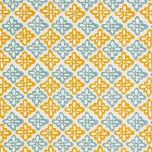 179303 PATTEE Turmeric Schumacher Fabric