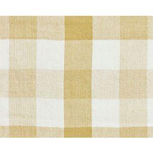 27135-002 WESTPORT LINEN PLAID Camel Scalamandre Fabric