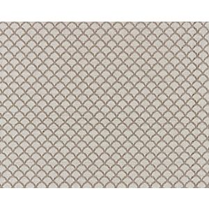 27137-003 SCALLOP WEAVE Flax Scalamandre Fabric