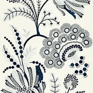 27162-001 ANNELISE EMBROIDERY Porcelain Scalamandre Fabric