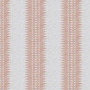 PRINTED STRIPE Guava Stroheim Fabric