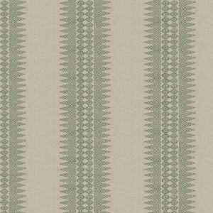 PRINTED STRIPE Laurel Stroheim Fabric