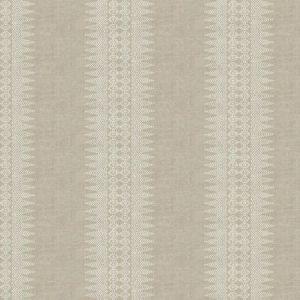 PRINTED STRIPE Linen Stroheim Fabric