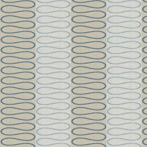 ZIP WAVE Bluebell Stroheim Fabric