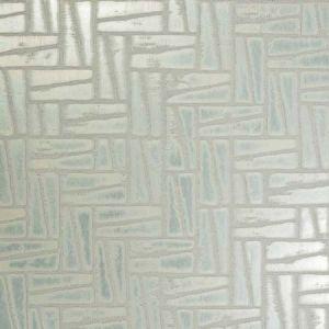 14099W ASHLAR Menta Verde 02 S. Harris Wallpaper