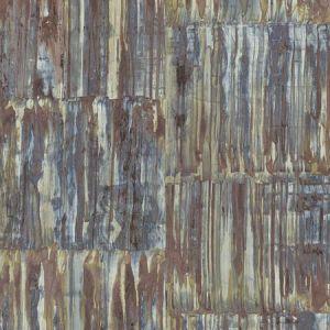 2922-24064 Chavez Faux Metal Panels Multicolor Brewster Wallpaper
