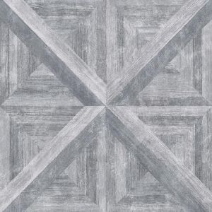 2922-25373 Carriage House Geometric Wood Grey Brewster Wallpaper