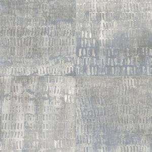 2922-25381 Conundrum Faux Metal Blue Brewster Wallpaper