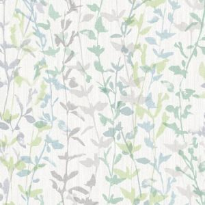 2964-25937 Thea Floral Trail Green Brewster Wallpaper