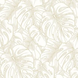 2964-87341 Balboa Botanical Gold Brewster Wallpaper