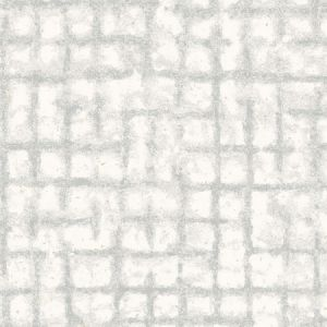 2964-87348 Shea Distressed Geometric Light Grey Brewster Wallpaper
