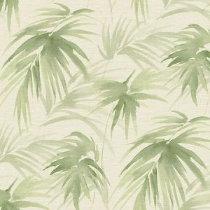 2964-87413 Darlana Grasscloth Green Brewster Wallpaper