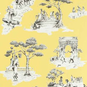 HARLEM TOILE HSC Yellow 01 S. Harris Wallpaper