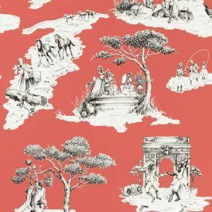 HARLEM TOILE HSC Cherry 02 S. Harris Wallpaper