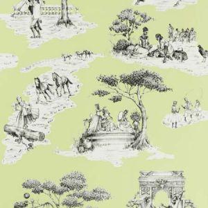 HARLEM TOILE HSC Pistachio 04 S. Harris Wallpaper