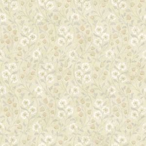 3119-13053 Patsy Floral Beige Brewster Wallpaper