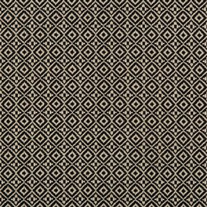 35403-816 ATTRIBUTE GRID Nero Kravet Fabric