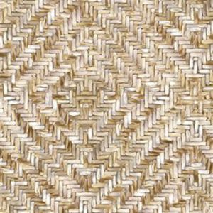 391563 Lakewood Weave Straw Mural Brewster Wallpaper