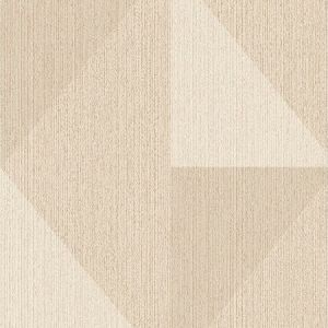 395821 Diamond Tri-Tone Geometric Khaki Brewster Wallpaper