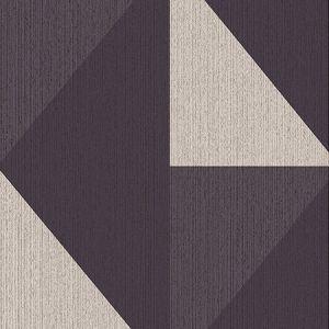 395823 Diamond Tri-Tone Geometric Black Brewster Wallpaper