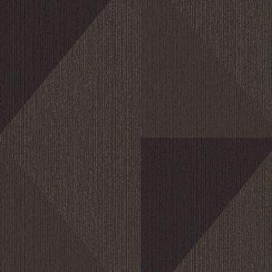 395825 Diamond Tri-Tone Geometric Bronze Brewster Wallpaper