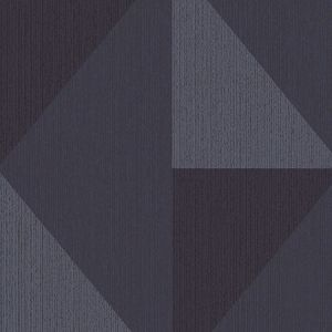 395826 Diamond Tri-Tone Geometric Blue Brewster Wallpaper