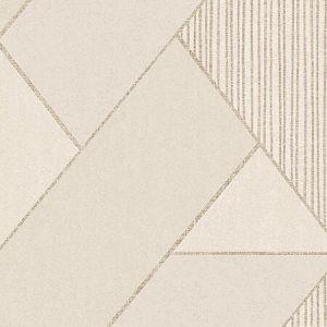 395830 Art Deco Glam Geometric Cream Brewster Wallpaper