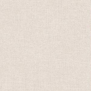 395840 Tweed Faux Fabric Cream Brewster Wallpaper