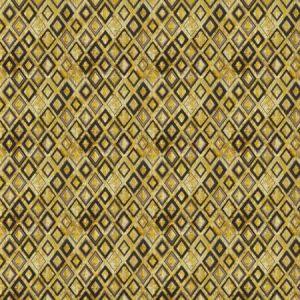 ROYALE DIAMOND Custard Stroheim Fabric