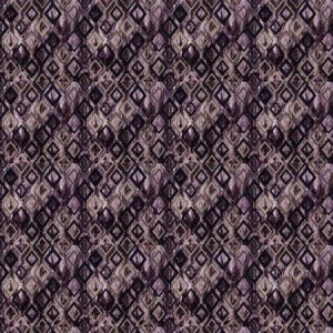 ROYALE DIAMOND Eggplant Stroheim Fabric
