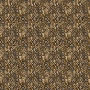ROYALE DIAMOND Chestnut Stroheim Fabric