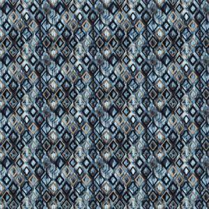 ROYALE DIAMOND Sapphire Stroheim Fabric