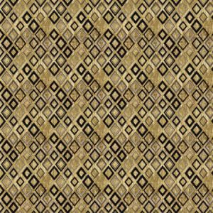ROYALE DIAMOND Gold Stroheim Fabric