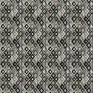 ROYALE DIAMOND Fog Stroheim Fabric