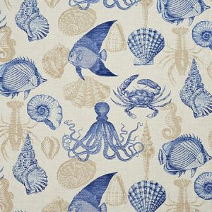 4643 Sealife Charlotte Fabric