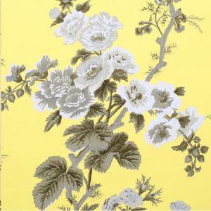 5006925 PYNE HOLLYHOCK Buttercup Schumacher Wallpaper
