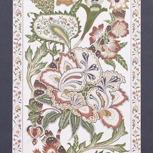 5010172 ANJOU STRIPE Saffron Schumacher Wallpaper