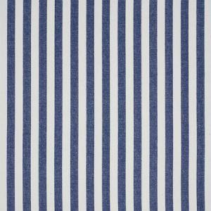 5010254 LINEN STRIPE Indigo Schumacher Wallpaper