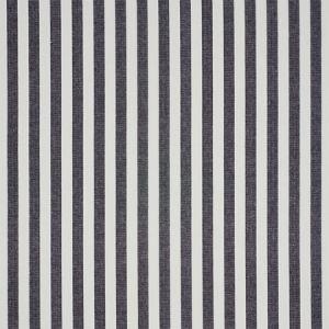 5010255 LINEN STRIPE Black Schumacher Wallpaper