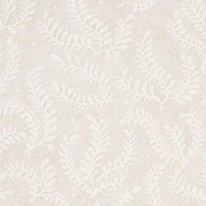 5010380 ETCHED FERN Natural Schumacher Wallpaper